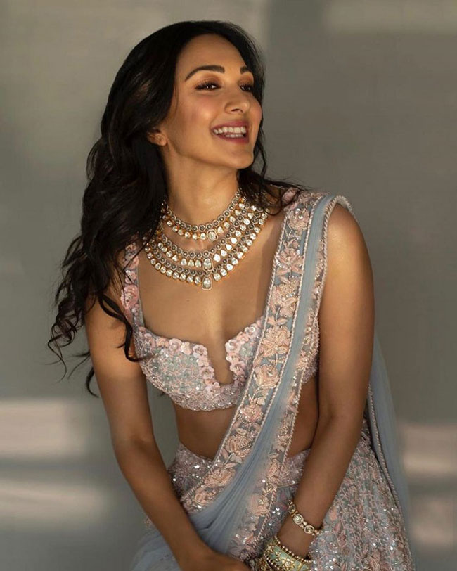 Kiara Advani Traditional Look