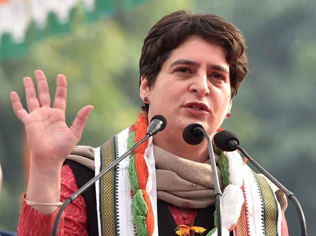 Priyanka Gandhi enters active India politics