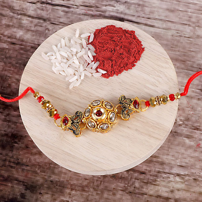 Rakhi should be tied at any time .. Good day after 558 years!