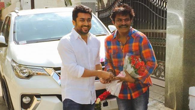 Suriya On About Movie with Director Hari