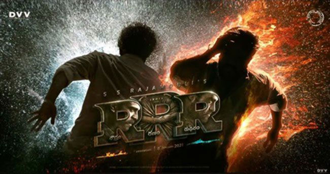 There are also those thrilling scenes in 'RRR' .. !!