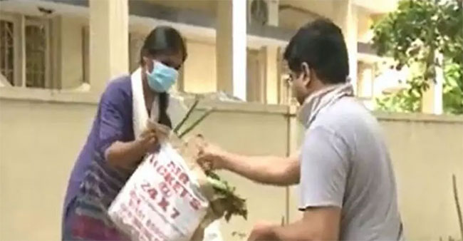 software saradha vegetables shop
