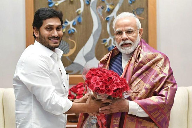Good marks for YCP .. Modi is closer!