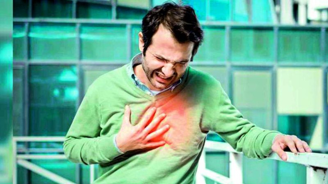 Heartattack .. Do not take light