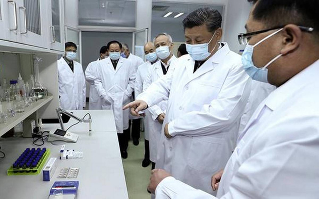 In China running rampant in the name of the vaccine