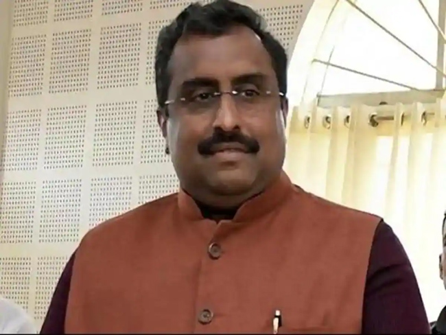 Is this the real reason behind Ram madhav's dismissal ?