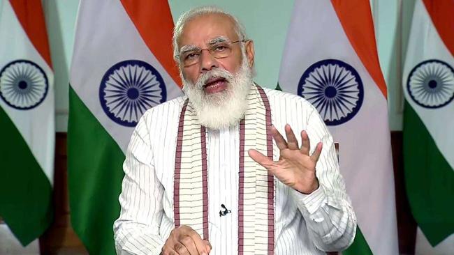 Narendra Modi in his Mann Ki Baat address said the  good values and sanskar to the children
