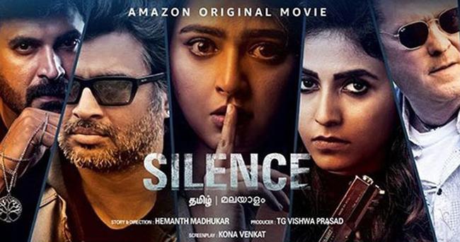 Nishabdham - Official Trailer