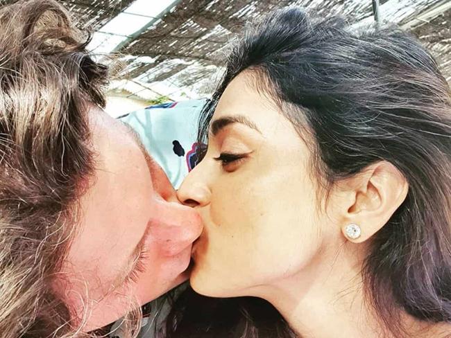 PhotoTalk: Birthday Romantic Kiss With Husband