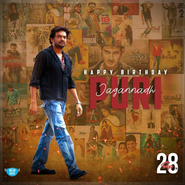 Puri Jagannath Celebrates his birthday