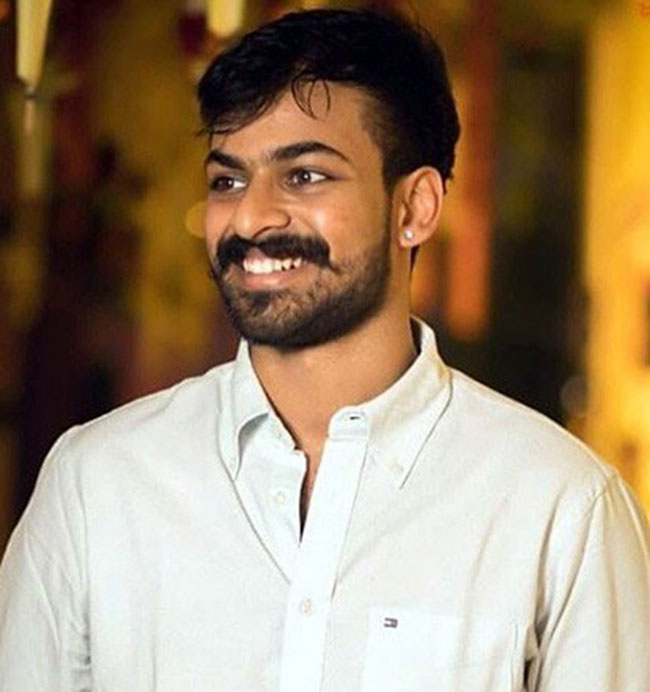 Vaishnav Tej does not Trying for a special image