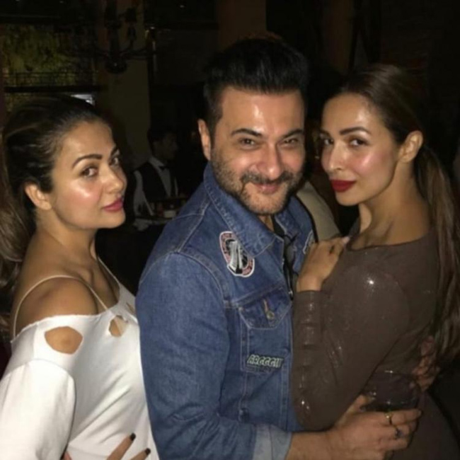 Arora sisters rusting at a birthday party