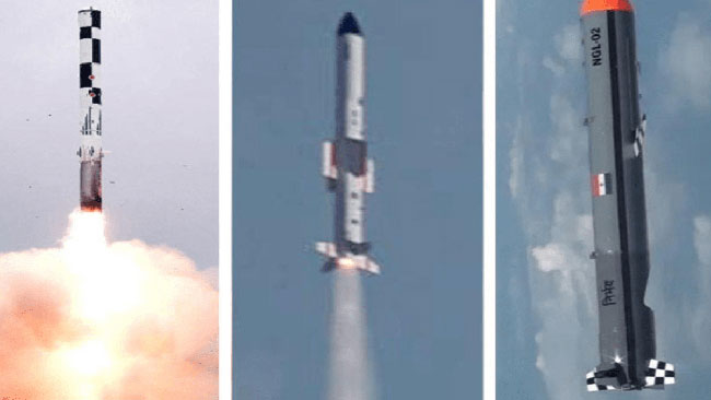 DRDA tests 12 missiles in 60 days