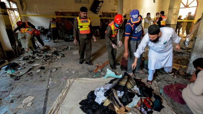 Deadly Bombing At Peshawar Religious School