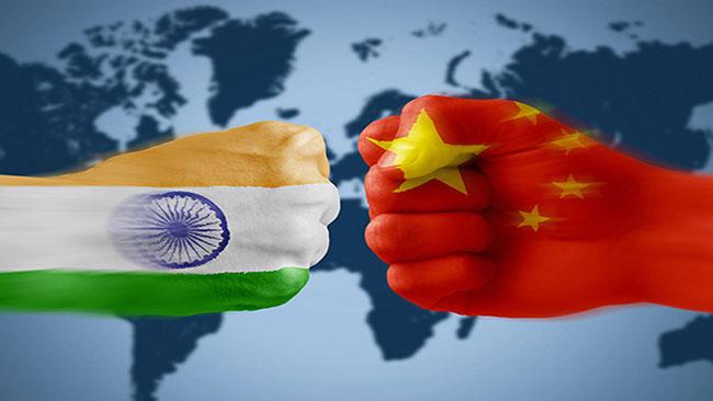 India to check china