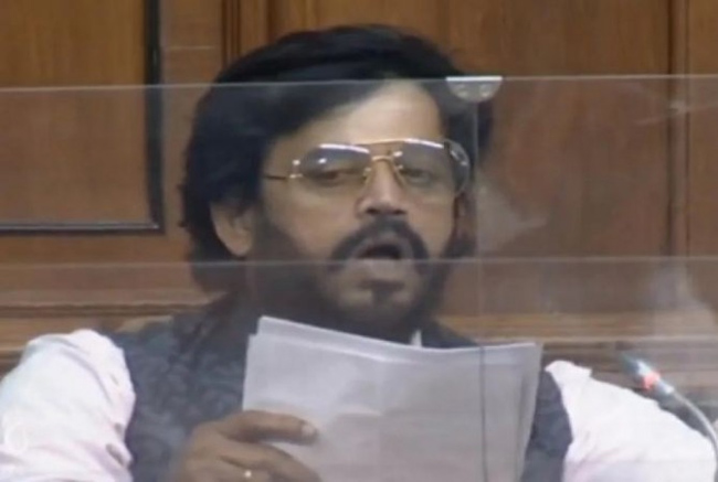 Maddali Shivareddy here .. Ravikishan in Parliament