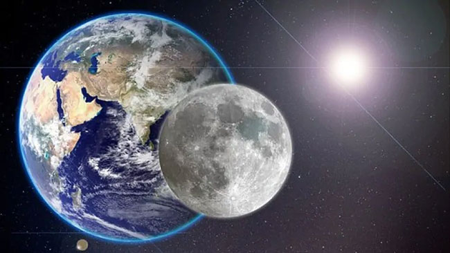 Moon saved the earth .. The new truth that came out