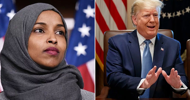 Omar marries own brother ... Trump makes controversial remarks!