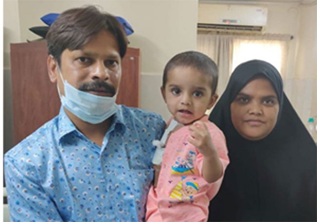 Two other children recently underwent heart operations