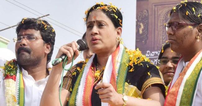 dubbaka election vijayashanti shock to Congress?