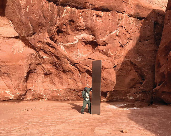 Aliens in America? So where is that pillar? Many riddles