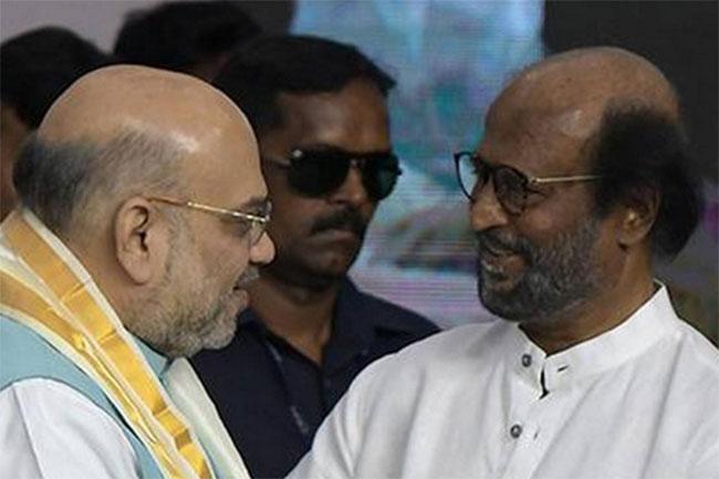 Amit Shah meets Rajinikanth?