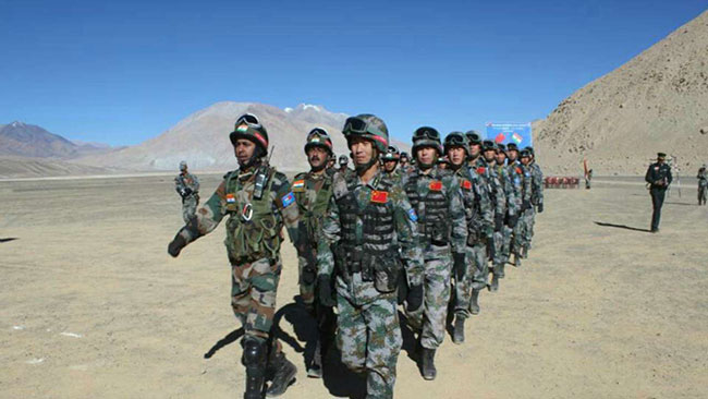Chinese soldiers entered in Bhutan