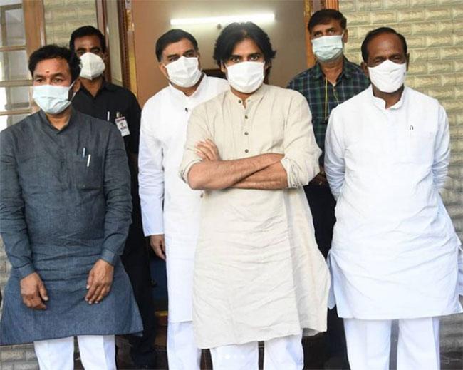 Greater Fight: Pawan Kalyan surrenders to BJP?