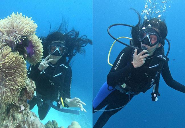 Pranitha Underwater Adventures