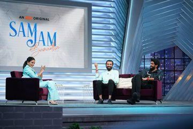 Rana And Ashwin Came To the SamJam Program