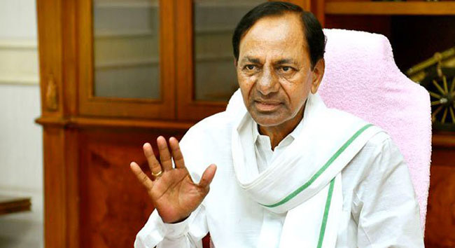 Cm Kcr on GHMC Elections results