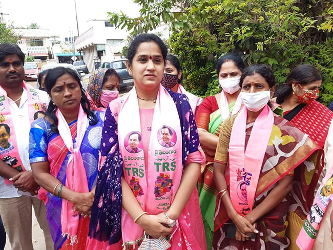 Sindu as TRS mayoral candidate?