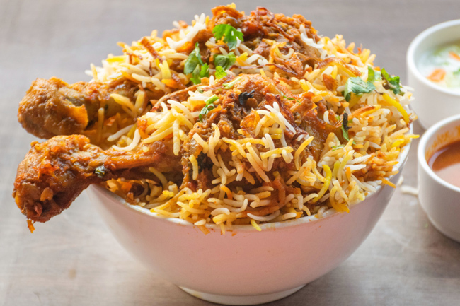 'Eat Biryani' in Hyderabad .. for only Rs.60!