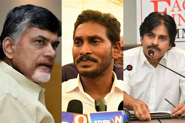 Are Jagan, Chandrababu and Pawan incompetent leaders?