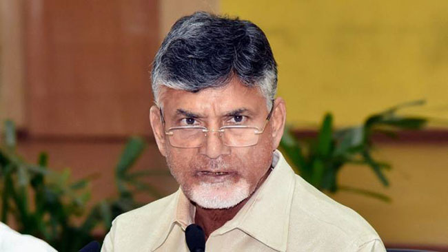 Chandra Babu Fires On State Election Commision