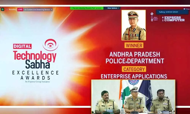 Harvest of awards for AP Police at the national level