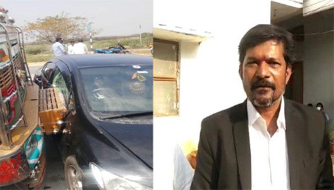 High Court Advocate Durgaprasad accident