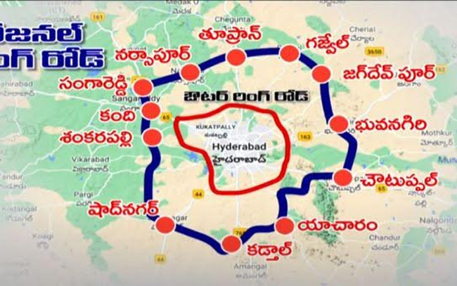 Hyderabad Regional Outer Ring Road .. From where to where?