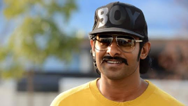 One of the latest Prabhas pic to come out is now the tribe is going viral