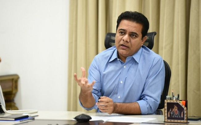 Organize IPL matches in hyderabad KTR appeal to BCCI