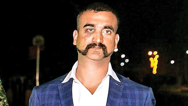 Rare phone call .. Leave a Abhinandan with a secret letter