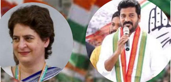 Revanth Reddy And Priyanka Gandhi Had Secret Discussions