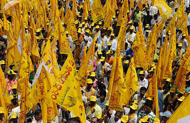 The party is now struggling even in districts where the TDP is strong