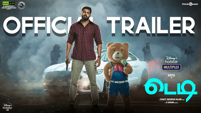 Trailer talk: This 'teddy' bear is not playing