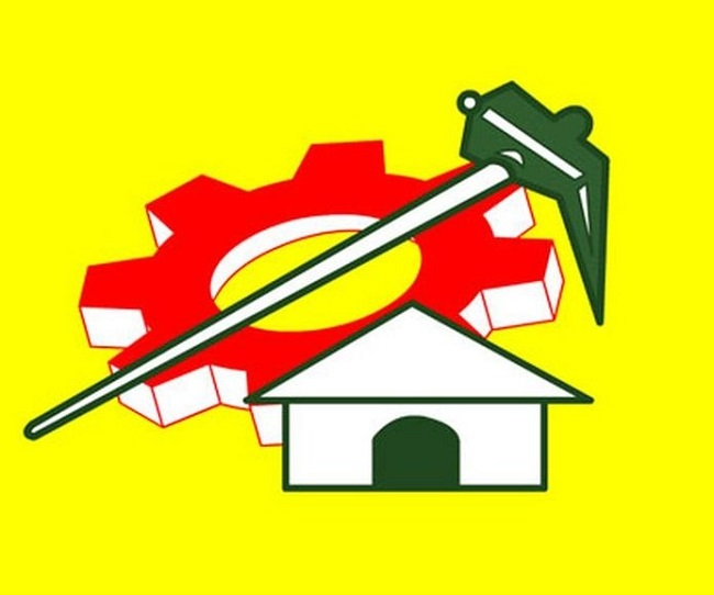 Did TDP leaders split in Vijayawada?