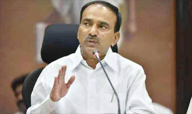 KCR more rough in the case of etela