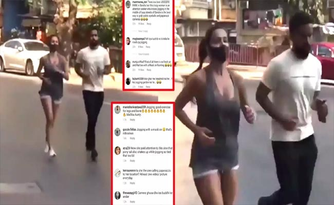Malaika Arora Gets Slammed For Jogging In The Middle Of The Road