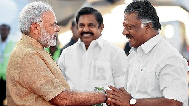 Reconciliation between BJP and AIADMK