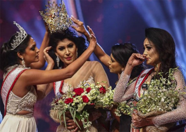 Miss Sri Lanka Fight