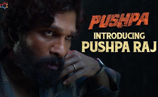 Pushpa Introduction Promo